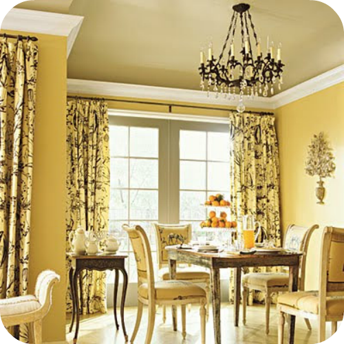 Decorating With Yellow And Gray  Gray Bedroom Decorating And Amusing Grey And Yellow Dining Room Design Decoration