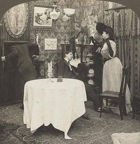 """Photo of """"Versteckt?"""" 1890er Jahre"""