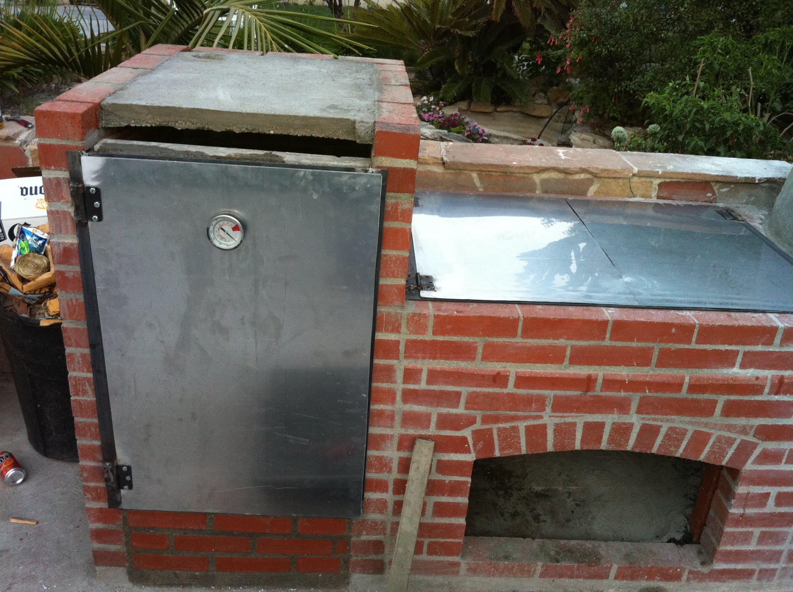 Construccion de parrilla y horno buenas recetas pinterest parrilla horno parrilla y horno - Parrillas y hornos a lena ...