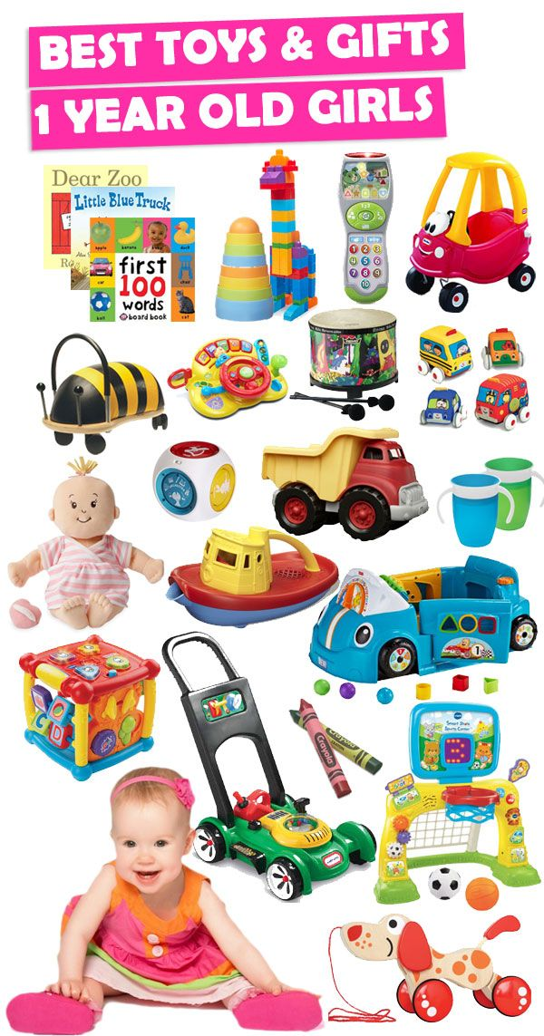Parents Save This List It Contains The Best Toys For 1 Year Old Girls See Over 150 Gift Ideas