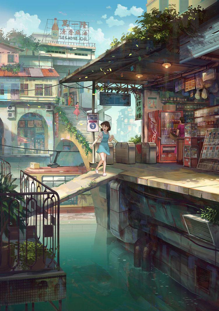 Station by FeiGiap on @DeviantArt