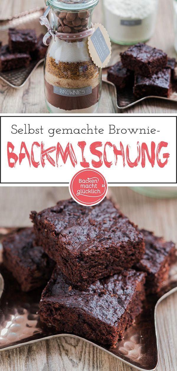 Brownie-Backmischung im Glas hat in meiner Sammlung an Geschenken aus der Küche definitiv noch gef