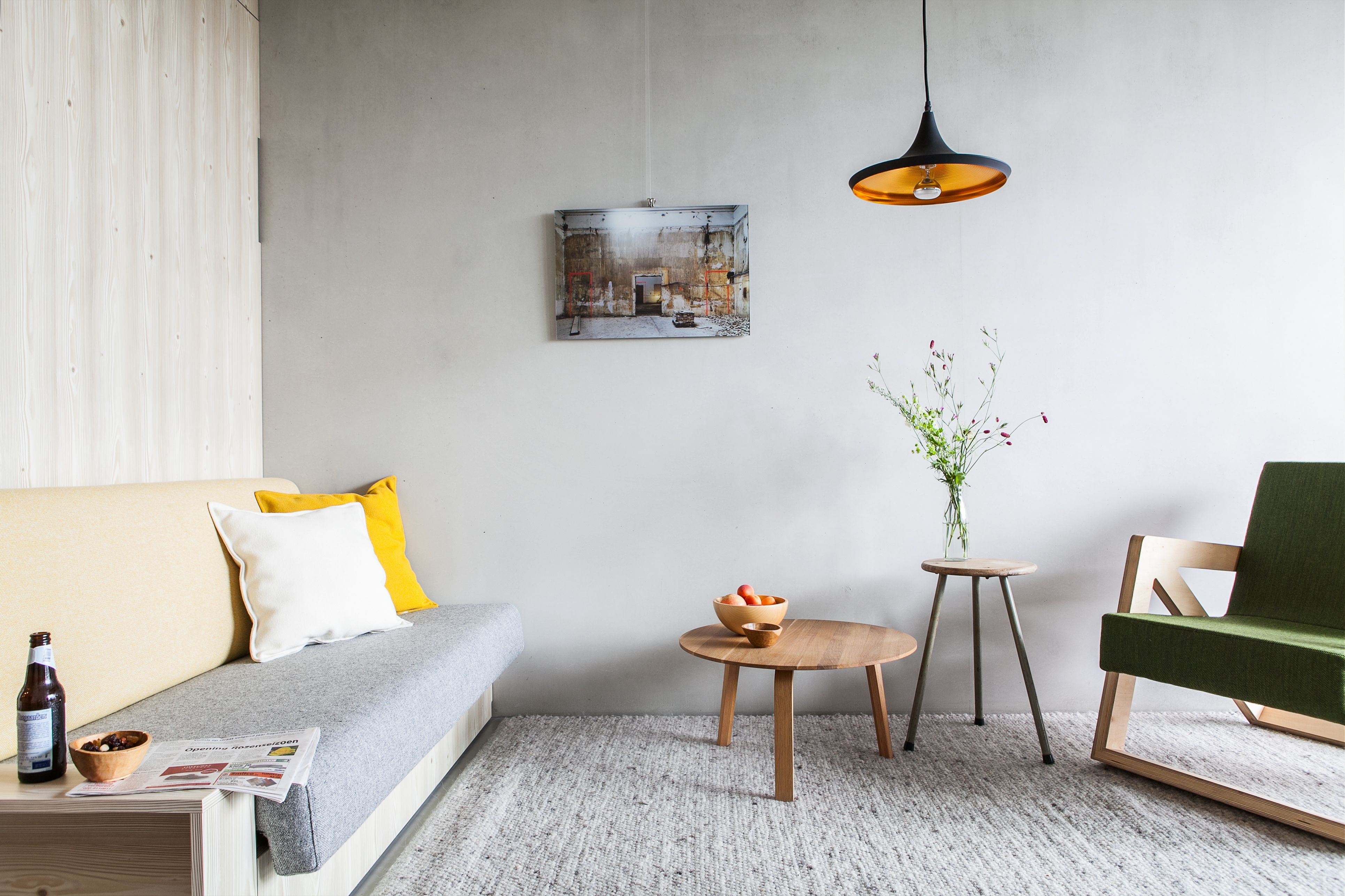 Fully equipped apartments in Amsterdam ready on the 1st of december 2016.
