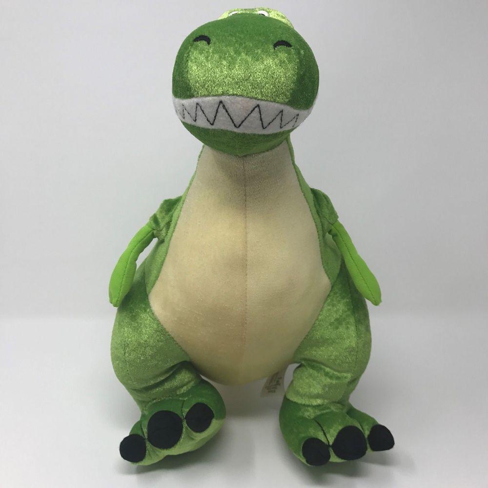 Disney Exclusive Green Dinosaur Rex Core Plush Stuffed Animal Toy