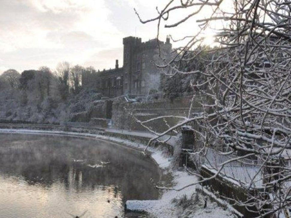 Kilkenny Castle in the snow...