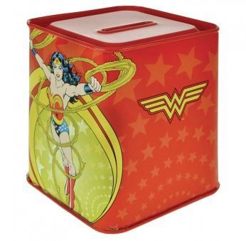 pics of wonder woman kitchen items | wonder woman money tin officially licensed wonder woman product made ...