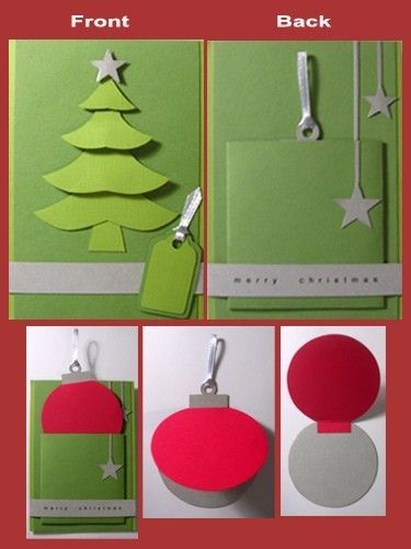 Handmade Christmas Cards Craft Ideas Papercraft Pinterest