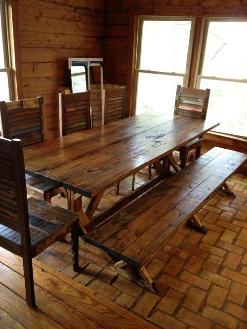 Esstische im Landhausstil mit Stühlen fürs Esszimmer - Esstische im ...