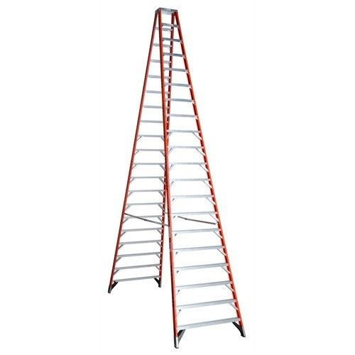 Werner T7420 20 Ft Type Ia Fiberglass Twin Ladder Ladder Folding Ladder Best Ladder