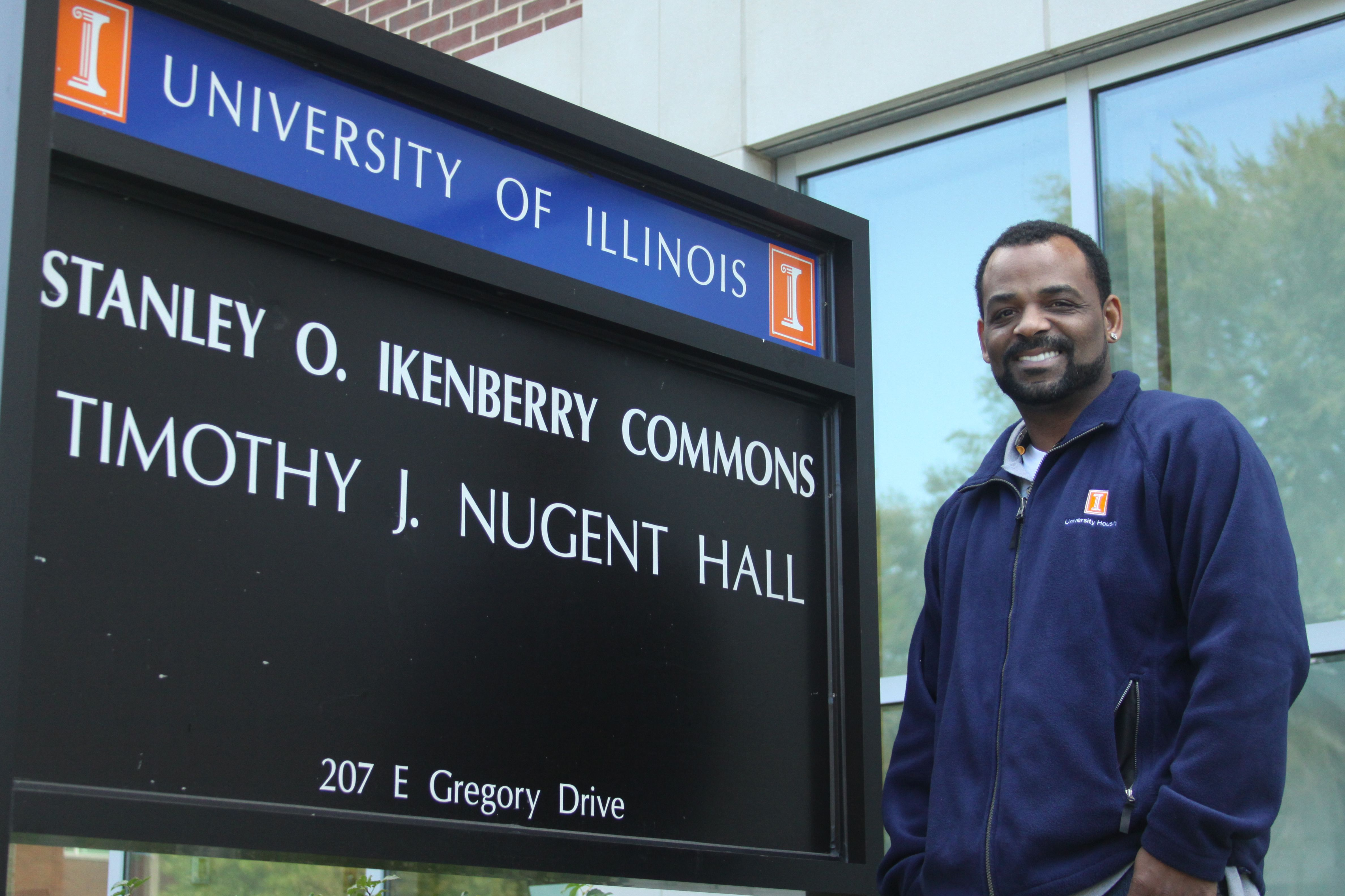 "By Kelly Hickey, The Daily Illini. Get to know Nugent Hall's service worker Jesse Butler in this week's People to Know.   ""From a ""good morning,"" to a ""good luck on your test,"" to ""have a good weekend,"" Butler believes these words help students remember to keep the place tidy."""