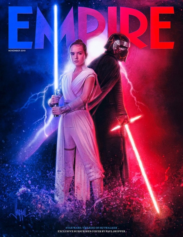 Empire S Subscription Only Cover For Rey And Kylo Ren The Rise Of Skywalker Poster Star Wars Empire Star Wars Episodes Star Wars Galaxies