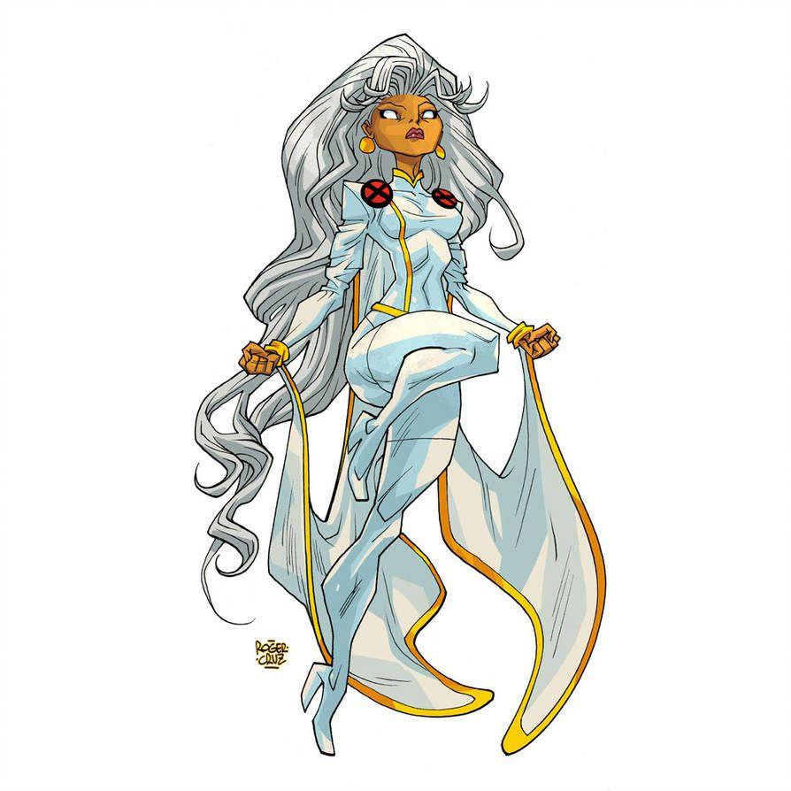 Storm 90 S By Rogercruz On Deviantart Storm Marvel Storm Xmen Comics Girls