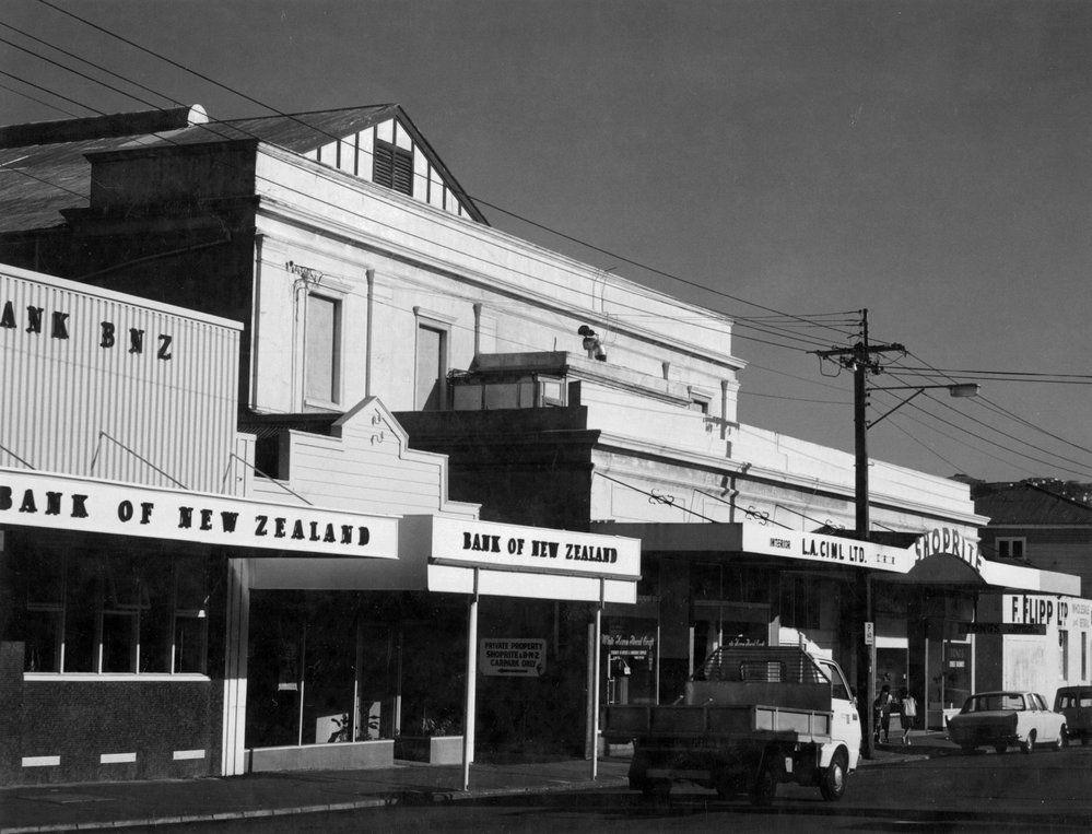 Former cinema 22 30 bay road kilbirnie wellington
