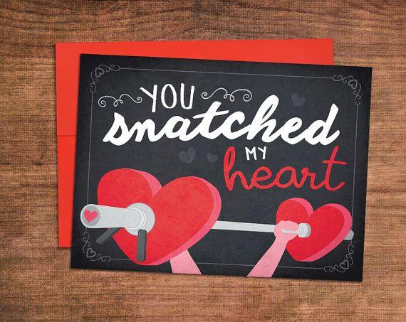Weightlifting valentines day card crossfit love greeting card weightlifting valentines day card crossfit love greeting card perfect for husband wife boyfriend girlfriend m4hsunfo