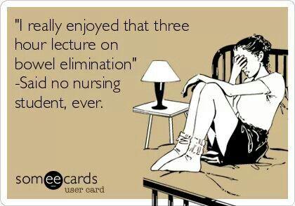 Haha #nursing Looking forward to class this week.. @Kristina Kilmer Redmon