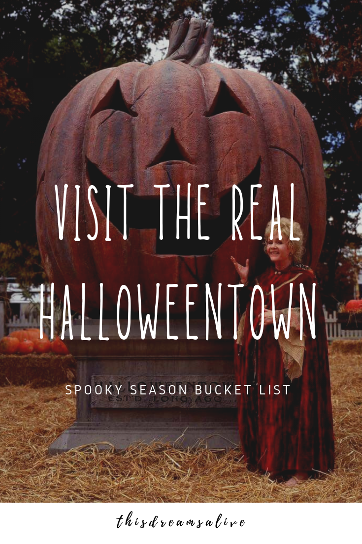 Things To Do On Halloween Oregon 2020 Visit the real life Halloweentown: Spooky Season Bucket List in