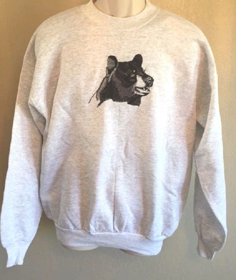Valuable message Black bear adult sweatshirt commit error