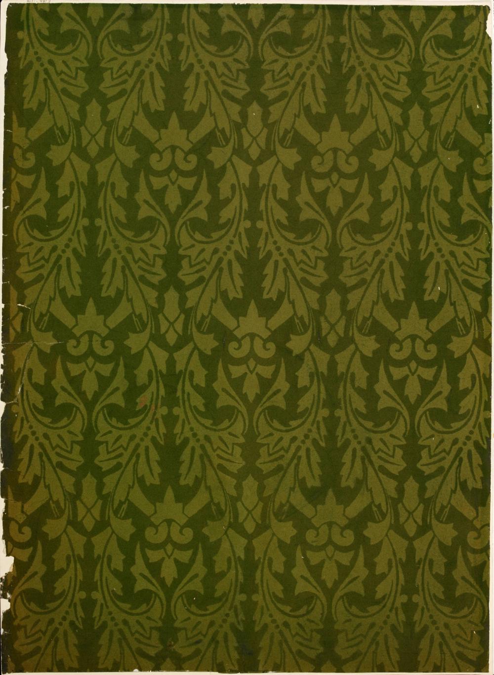 V&A · Flock wallpaper in 2020 Flock wallpaper, Wallpaper