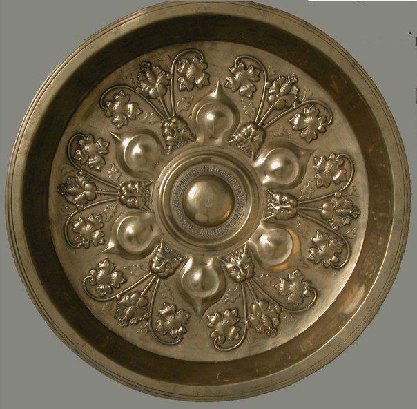 Plate Date: ca. 1475–1500 Culture: German Medium: Brass Dimensions: Overall: 17 1/8 x 3 1/16 in. (43.5 x 7.7 cm)