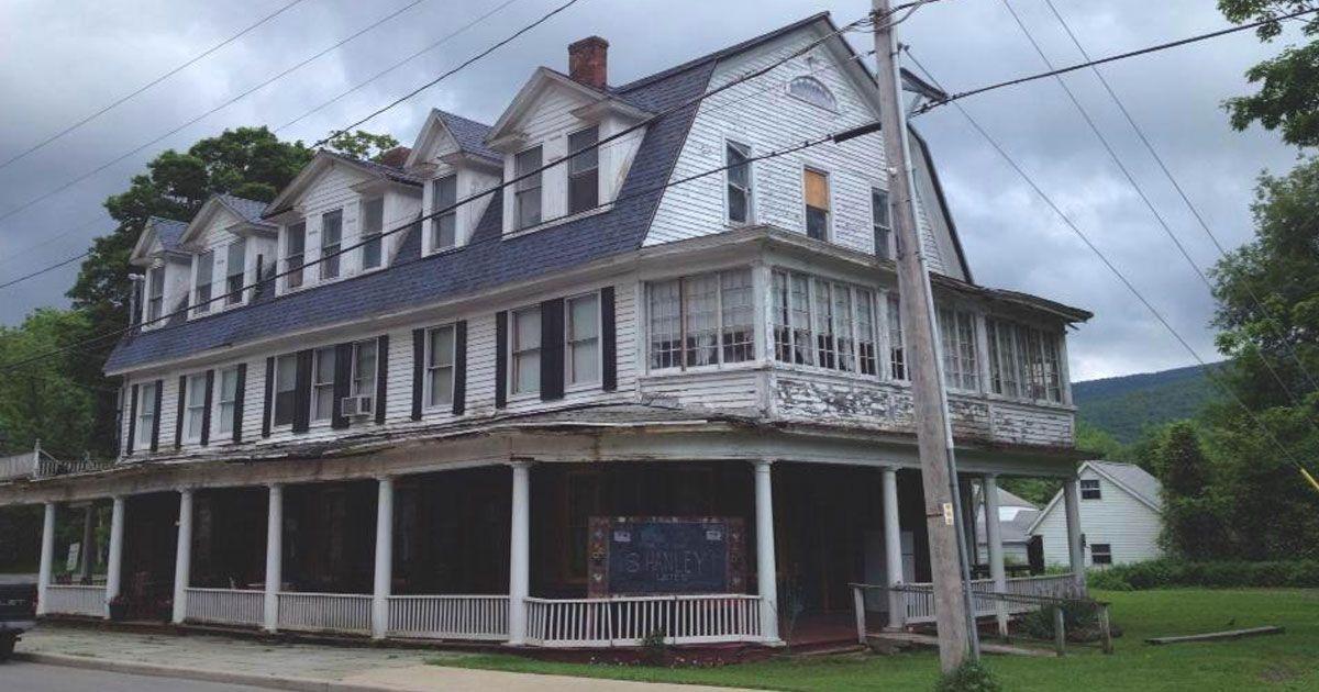 Shanley Hotel eines der unheimlichsten Häuser der USA