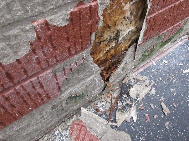 築10年過ぎて 少しずつ外壁にも傷みが目立つように 塗り壁じゃ