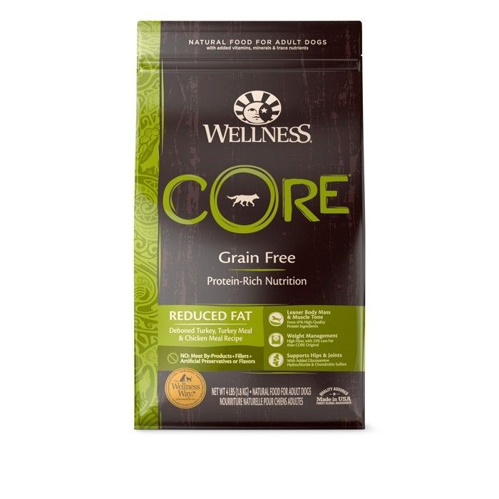 wellness core reduced fat dog food reviews