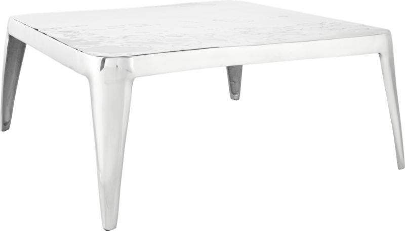 Sterling Coffee Table Cb2 Coffee Table Aluminum Coffee Table