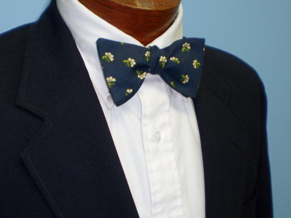 Flower Bow Tie by BarryBeaux on Etsy, $45.00