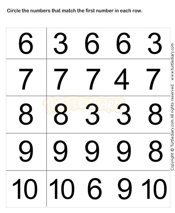 Learn Numbers Worksheet2 Math Worksheets Preschool Worksheets
