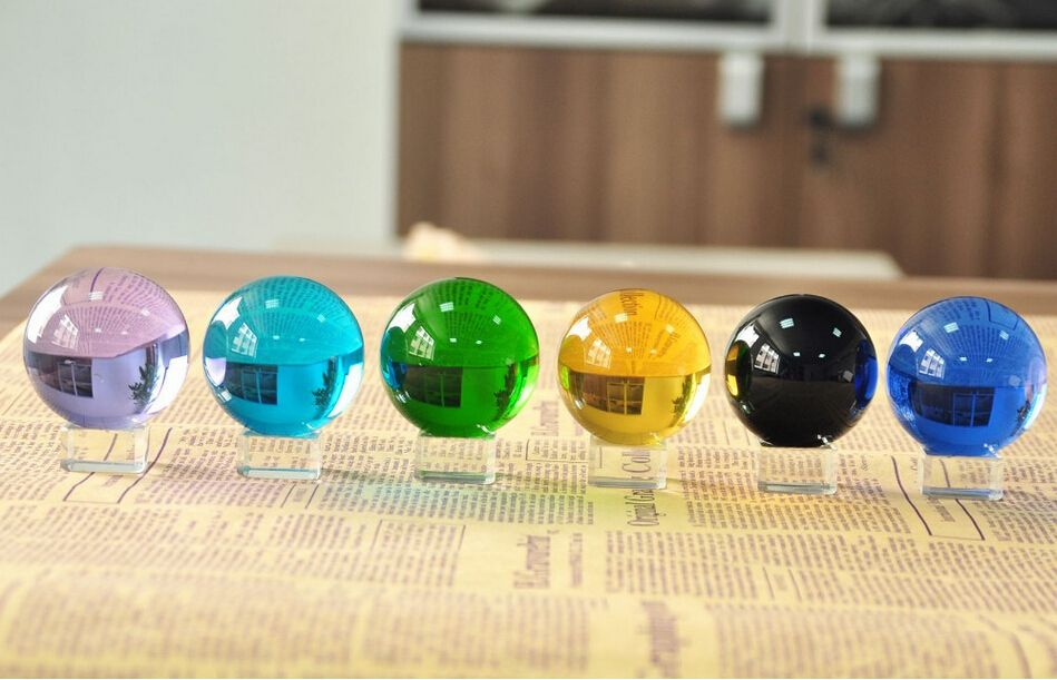 Cheap ball web, Buy Quality ball screw directly from China ball and chain weapon Suppliers:  Beautiful Asian Quartz Crysta Healing Ball Sphere 60MM + Stand Fengshui Produces Multi-color Glass Ball Paperweight Fre