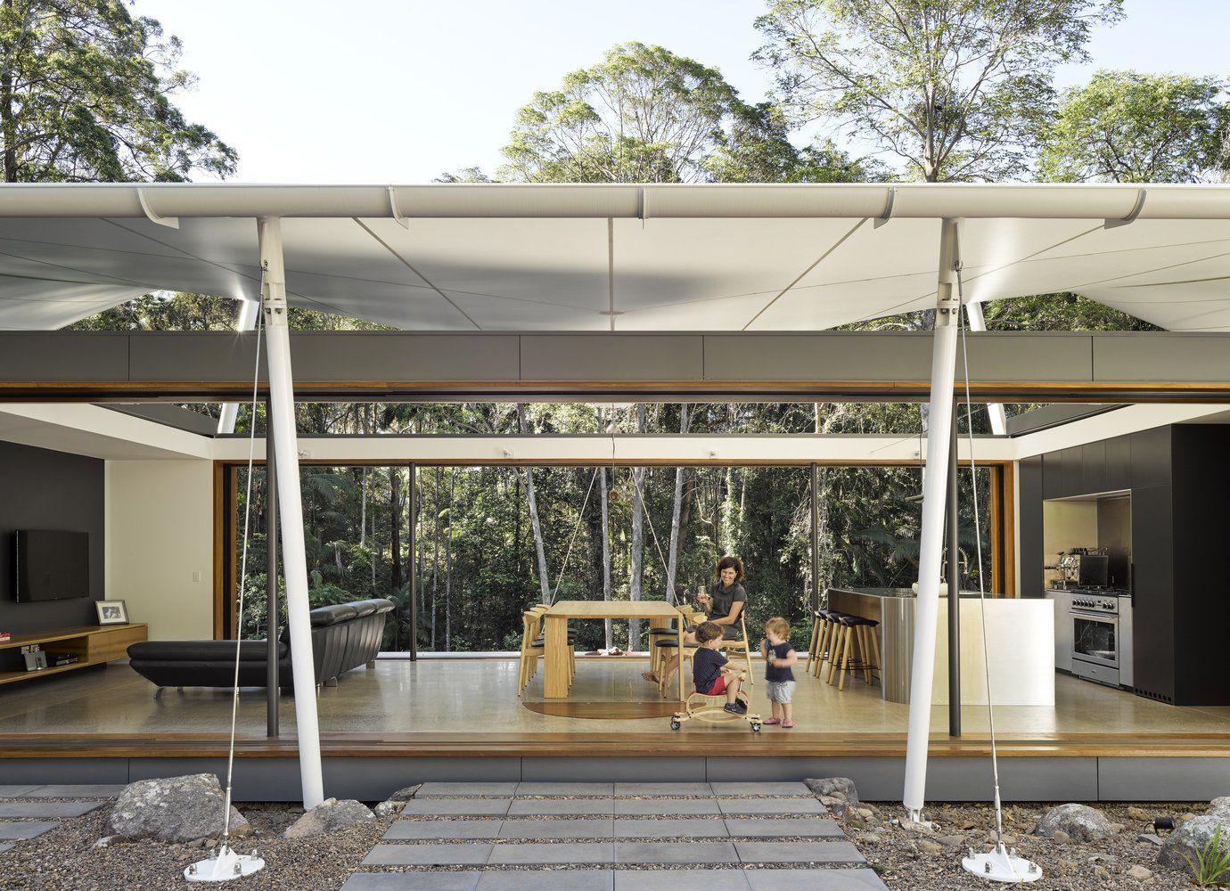 Tenthouse Living Room In Eumundi Australia 1380 X 1000