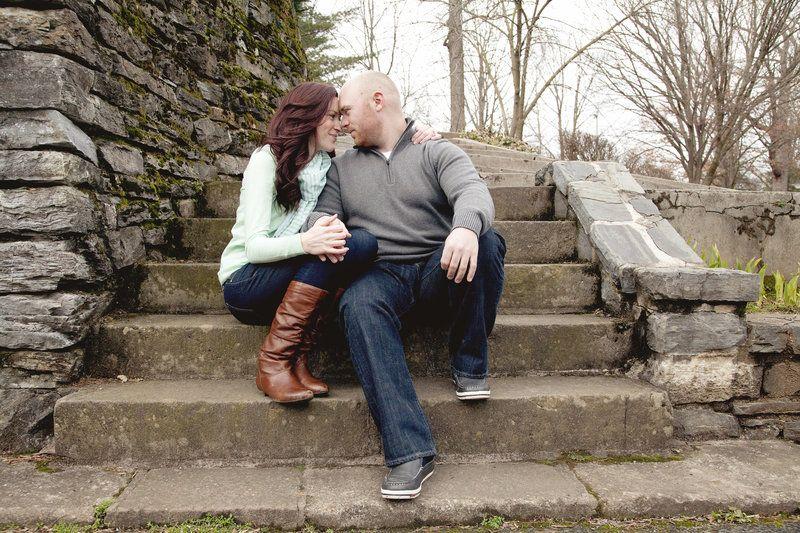 Melissa & Andrew  Photos by Velahos Photography