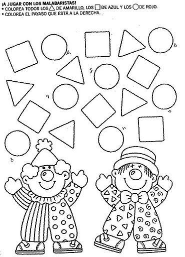 figuras geometricas   Magis   Pinterest   Tot school, Teacher and School