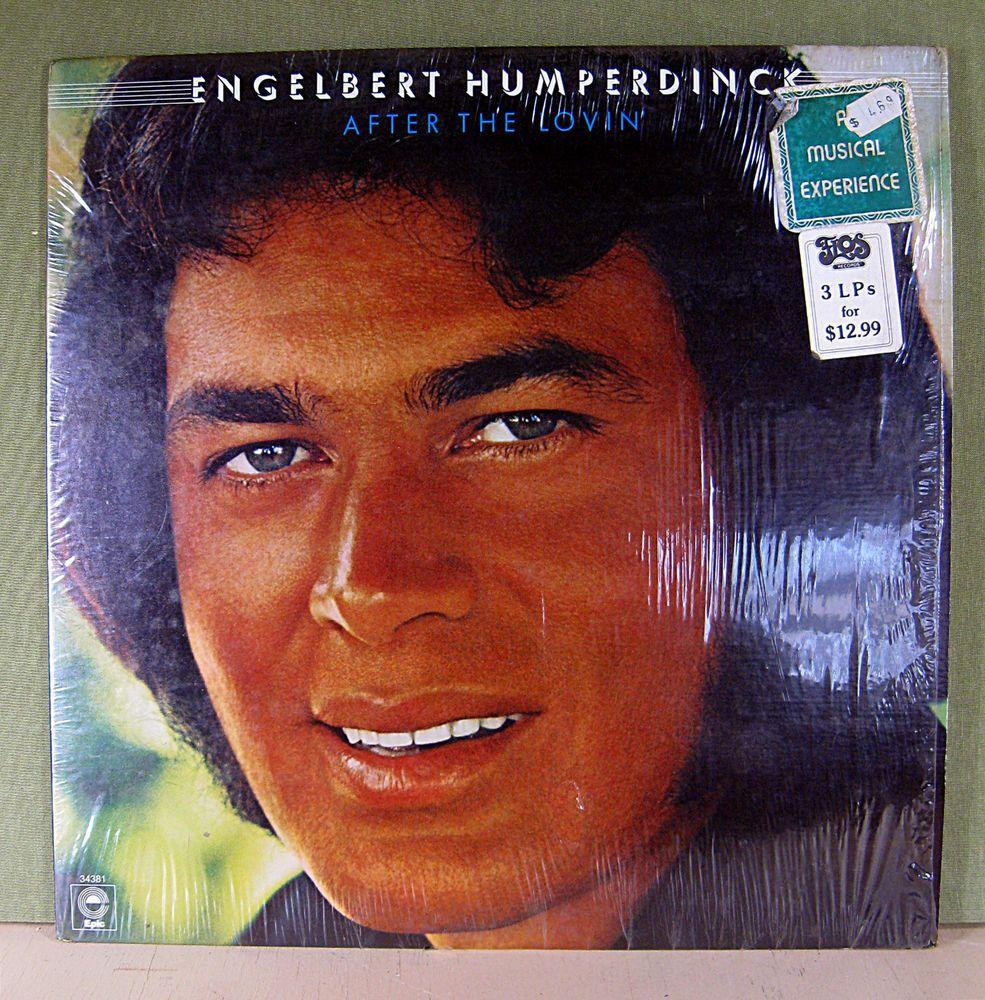 Engelbert Humperdinck After The Lovin 1976 Vinyl Record Epic Records Cbs Inc Softrockballadvocal Vinyl Records Vinyl Records