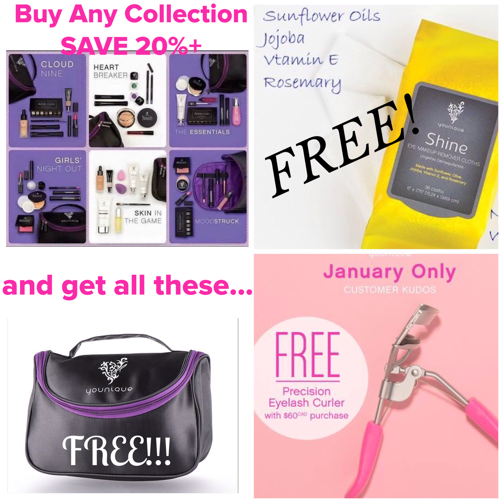 Get on this deal fast! Younique is giving FREE shine