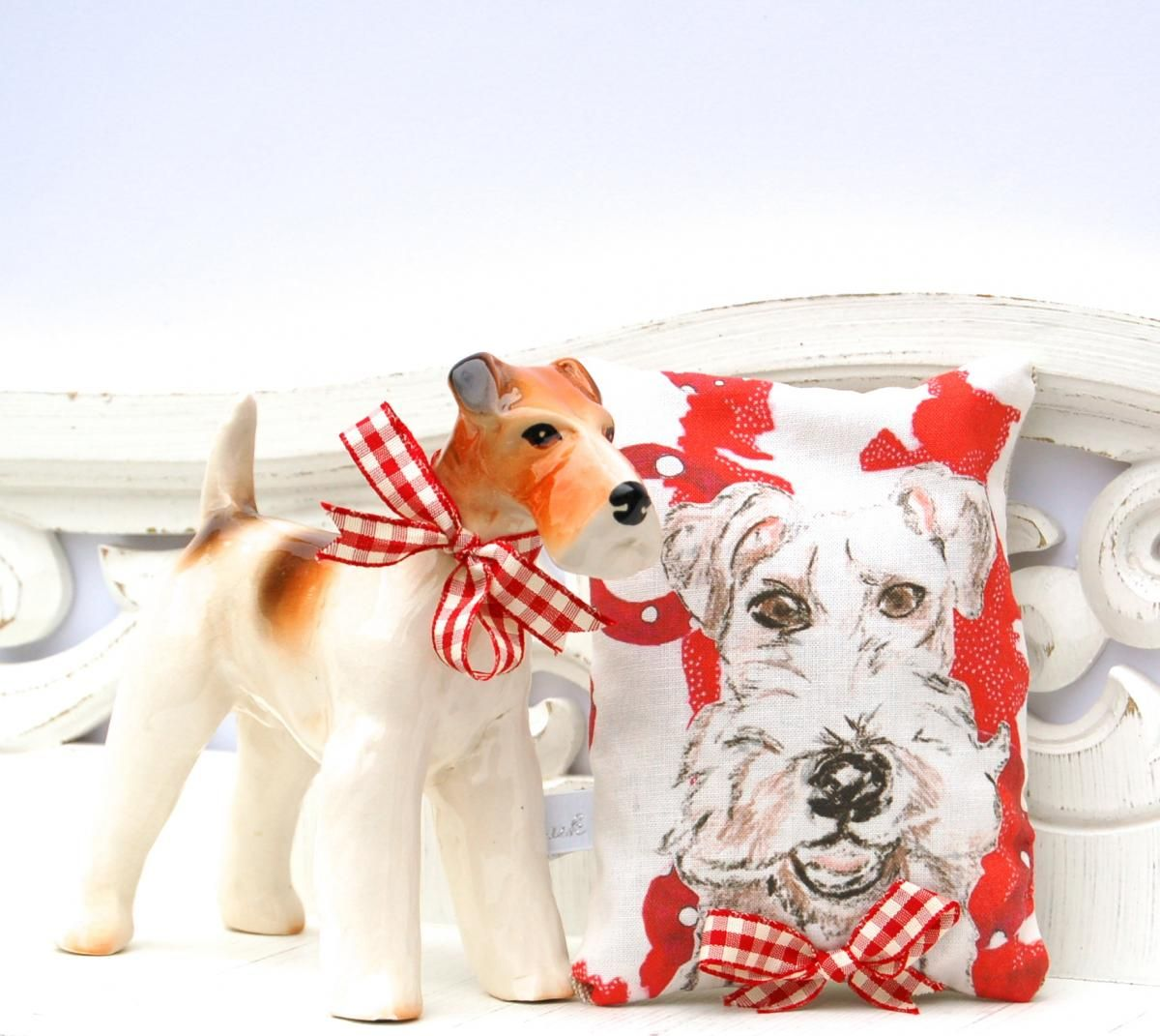 Basil The Dog Lavender Cushion | Gifts For Her | Gifts | Swanky ...