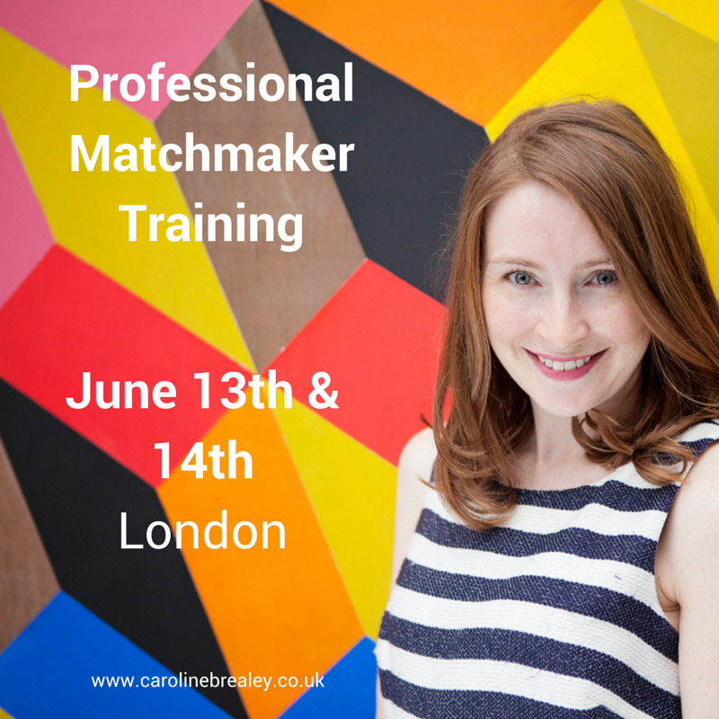 Ever wanted to be a professional matchmaker? We are delighted to announce the next matchmaker training course will be in Mayfair, London in June 2015!