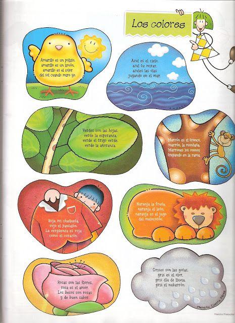 Los Duendes Y Hadas De Ludi Recursos Para Trabajar Los Colores Lectura Cortas Para Niños Rimas Cortas Para Niños Poesía Para Niños
