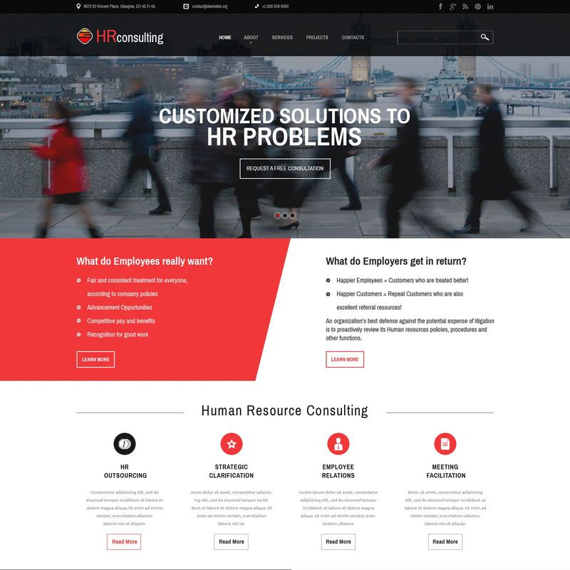 Public Relations Bootstrap Website Template Small Screenshot Website Template Responsive Website Template Website Template Design