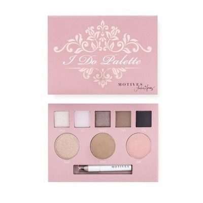 Motives® I Do Palette (A Collaboration with Jackie Gomez) - Includes five eye shadow, one blush, one bronzer, one highlighter and one mini eye pencil