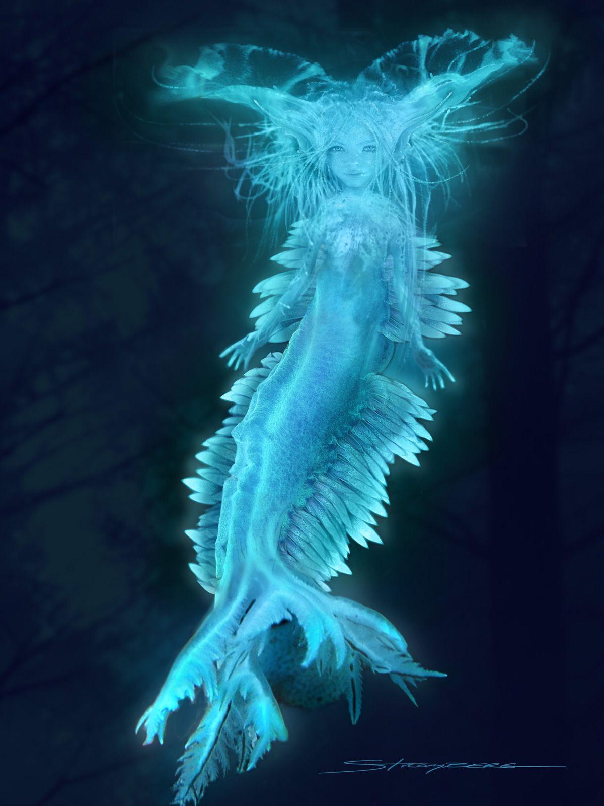 Water sprite creature