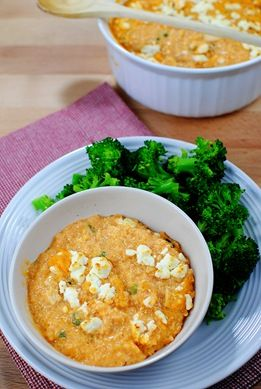 Buffalo chicken quinoa.  Not super healthy but better than the norm. And super delicious.