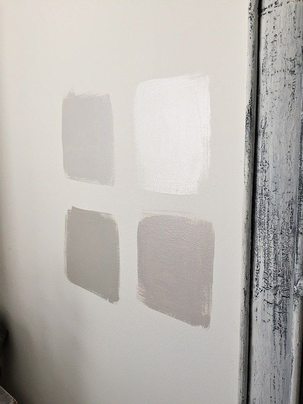 Guest Bedroom Makeover Paint Swatches Greige Paint Colors