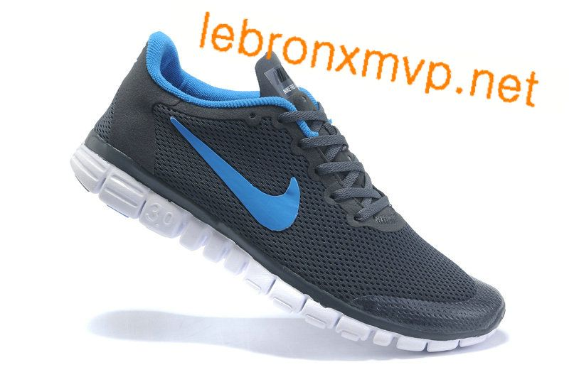 Cheap Men'sWomen's Nike Free Run 3.0 V2 Shoes Deep Grey