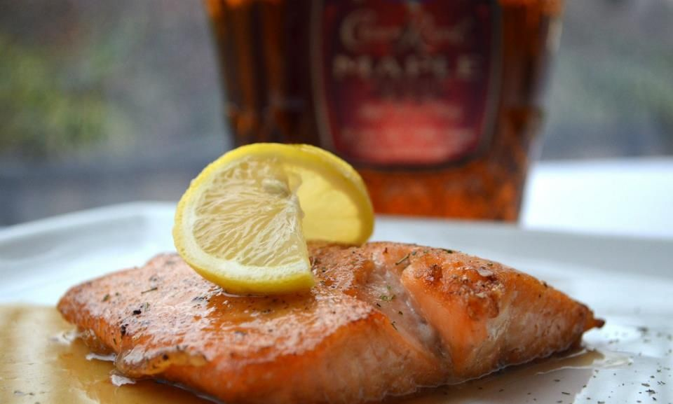 Crown royal maple salmon delicious winter 2013 get in my belly salmon cooked with crown royal maple forumfinder Images