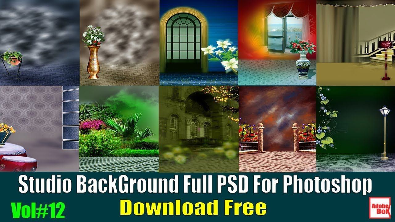 Studio Background Full Psd For Photoshop Vol 12 Download Free By Adobe B Studio Background Photoshop Backgrounds Photoshop Backgrounds Free