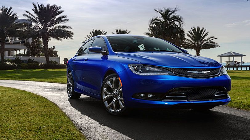 The All New 2015 Chrysler 200s Includes Gloss Black Accents On The