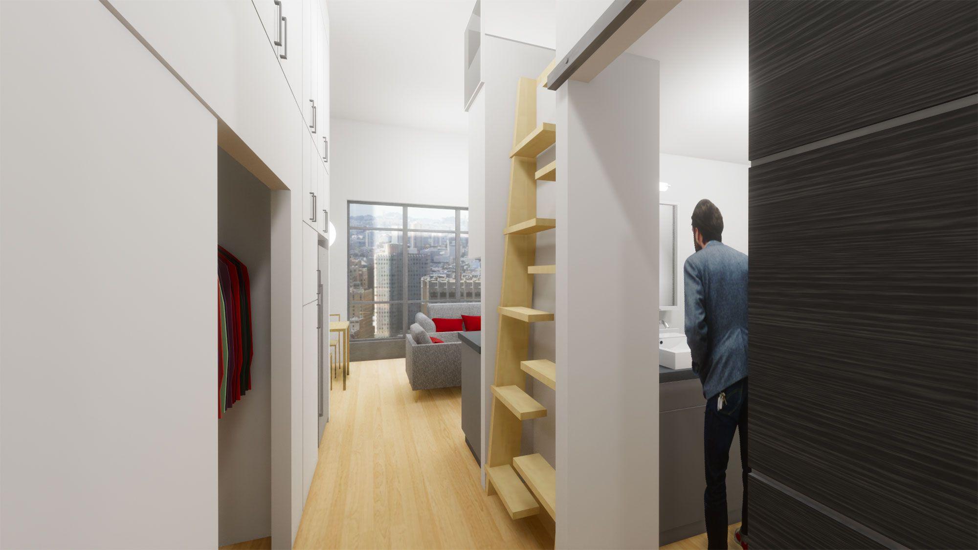 Micro Apartments Architecture Plan Micro Apartment Apartment