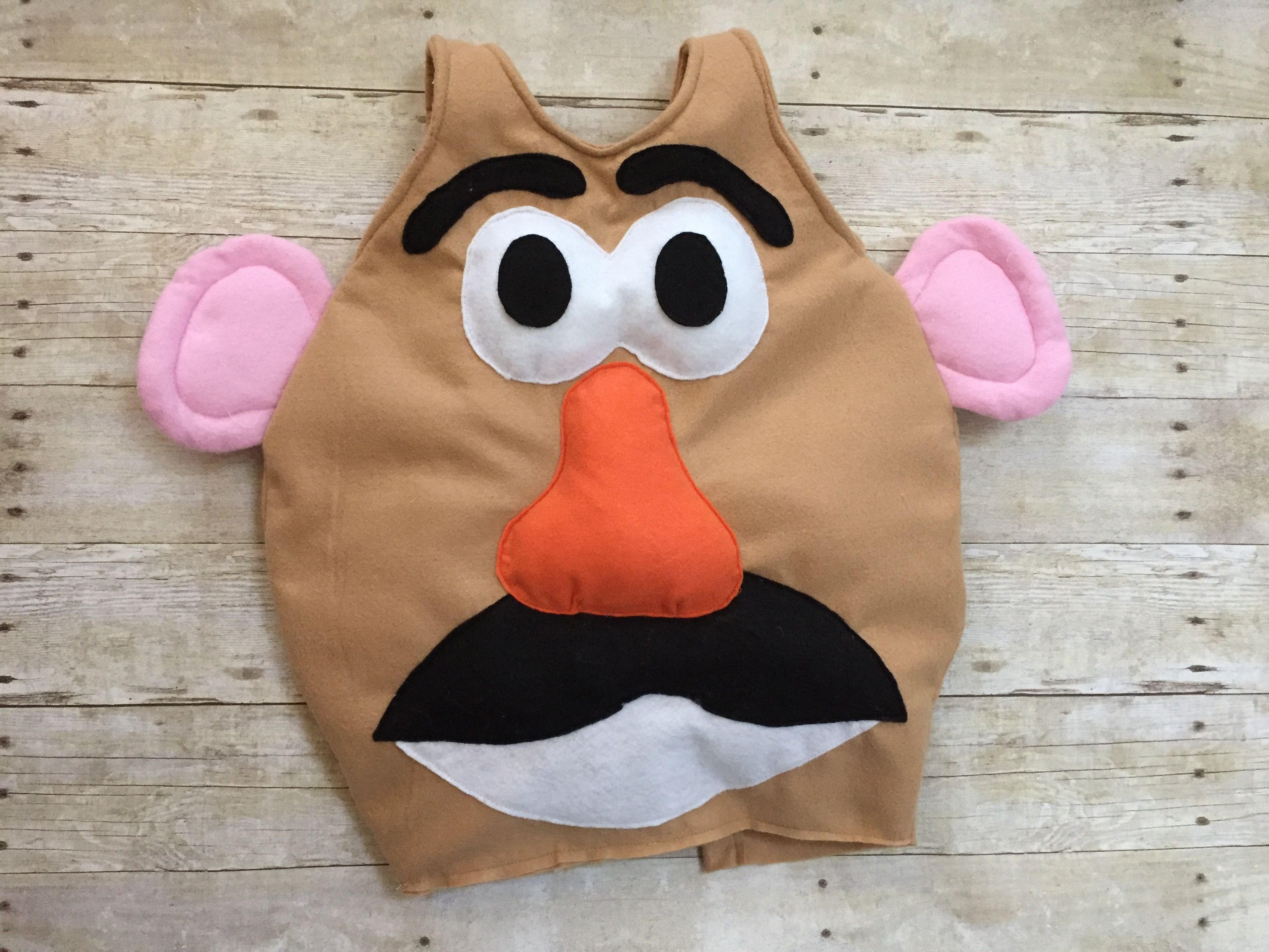 Tutorial On How To Make A Mr Potato Head Costume For Under
