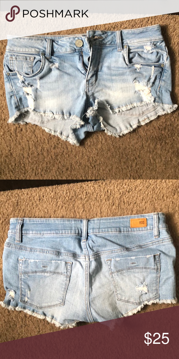 fdb596f3af Tillys RSQ Jean shorts Size 5 tillys RSQ shorts. Bought and never worn but I